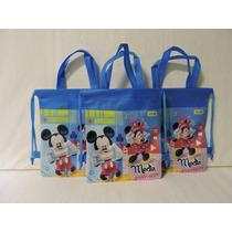 Dulceros Minnie Mickey Mouse Bolsas Fiesta 10 Regalos Unisex