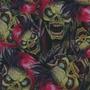 Calaveras - K22 - Punk Skulls - Ancho 1m