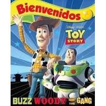 Cotillon Cumpleaños Cartel Bienvenida Toy Story Gabym