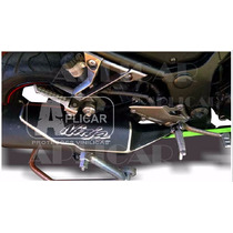 Adesivo Fibra De Carbono Escapamento Ninja 300 Kawasaki