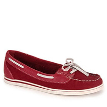 Sapato Dockside Feminino Bottero - Vermelho
