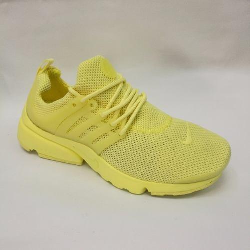 Zapatillas Nike Air Presto Custom Amarilla Dama Envio Gratis -   139.900 en  Mercado Libre 351ee2f7a0b