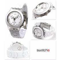 Relógio Swatch Full Blooded White Svck4045ag - Frete Gratis