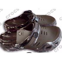 Sandalias Crocs Yukon Camufladas Para Caballero