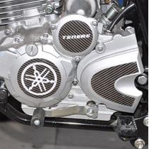 Protetor Adesivo 3d Motor Carbono Moto Yamaha Xtz 250 Tenere