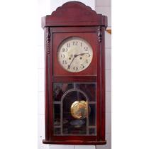 Relógio De Parede Alemão Duas Setas Centenário - Ano 1930