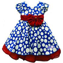 Vestido Infantil Festa Da Galinha Pintadinha Promoçãp