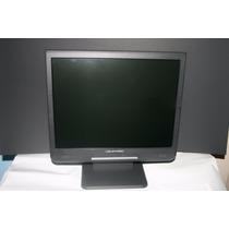 Monitor Lvd E15lcd1 Lcd 15 C/ Áudio Vga +cabos (no Estado)