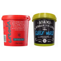 Creme De Pentear Creoula 930g + Curly Wurly Pudding 400g