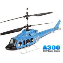 Helicóptero Controle Remoto E-sky A300 4 Canais Coaxial Rtf