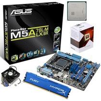Kit Asus M5a78l M + Processador Fx 6300 4.1ghz + 8gb Hyperx