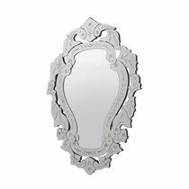 Espelho Veneziano Arino Chique Princesa Detalhes