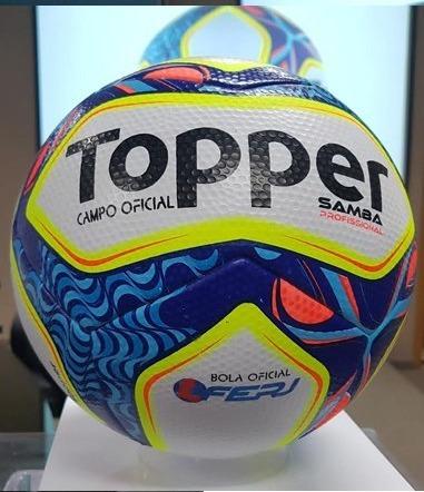 Bola Futebol Oficial Topper Samba Pró - Bola Do Carioca - R  159 e3948aaee2747
