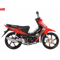 Moto Daytona Dy125 Cx7 / Rojo, Blanco