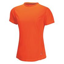 Playera Maratón Dry Tec Dama Naranja