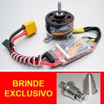 Motor Elétrico Brushless Donkey St3007 Com Esc ((+ Brinde))