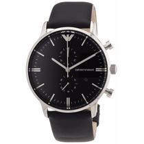 Relógio Emporio Armani Ar0397 Couro Original Garantia 12x.