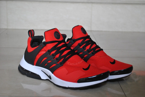 918e54b110e6e Kp3 Zapatos Caballeros Nike Air Presto Clasico Rojo   Blanco - Bs.  179.000