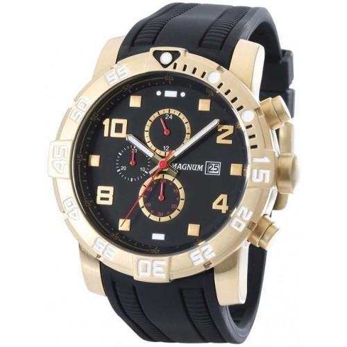 3e069d9d8a9 Relógio Masculino Magnum Racing Cronógrafo Ma34174u - R  534