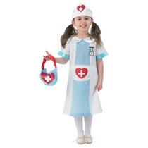 Disfraz De Enfermera Grande Para Niñas Talla L