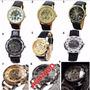 Reloj Hombre Skeleton Corazon Abierto Promo2x1* Envio Gratis