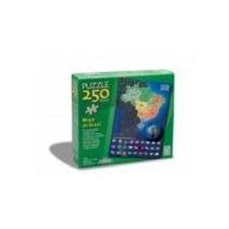 Quebra-cabeça Mapa Do Brasil 250pçs Grow