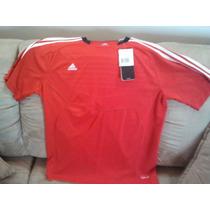 Adidas Franela Predator Rojo Blanco Negro Talla M Cod 198