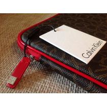 Exclusivo Estuche Cuero Calvin Klein Para Tu Ipad. Original!