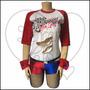 Disfraz De Halloween Harley Quinn Para Mujer