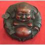 Buda Happy Tallado En Madera, India!