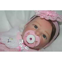 Boneca Bebe Reborn Anna Clara Ref 120