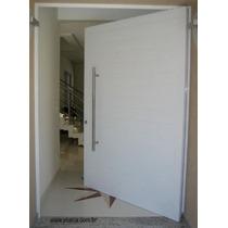 Porta Pivotante De Alumínio 1200x2500 + Guarnição De 4cm