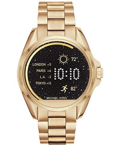2c1fa72d1be Relogio Michael Kors Mkt5001 Access Smartwatch Dourado - R  2.680