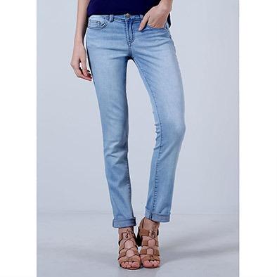 22a4213612 Calça Jeans Reta Feminina Equus - R  129