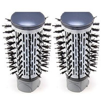 2 Cerdas Da Escova Conair Rotating Air Brush Titanium