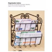 Betterware Organizador Rústico Envío Gratis Herrería Recibos