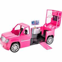 Barbie Rock And Royals Carro Limousine Cabem 6 Bonecas
