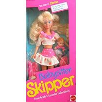 Juguete Barbie Niñera Patrón Muñeca (1990)