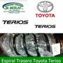 Espiral Trasero Toyota Terios