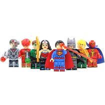 La Liga De La Justicia Justice League Compatible Con Lego