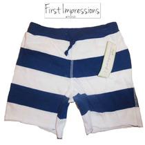 Envio Shorts 24 Meses Nino Nina Bebe Azul Blanco Macy