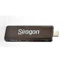 Pc Stick Siragon Ps-5000 Win8.1 Quadcore 2gbram 32gb Tempas