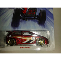 Miniatura Honda Civic Hot Holiday Nova / Lacrada !!!