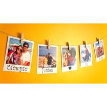 Guirnalda Banderín 10 Fotos Polaroid - Papel Fotográfico!!!