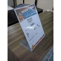 Display De Pvc Cristal 1mm Mesa Tamanho A-4 L