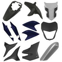 Kit Carenagem Honda Xre 300 2012 - Azul Cruzeiro Perolizado