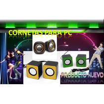 Cornetas Para Computadora, Corneta Para Pc,mp3,ipod, Laptop