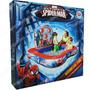 Bestway Spiderman Pileta Interactiva 155x155 Cm Con Juego