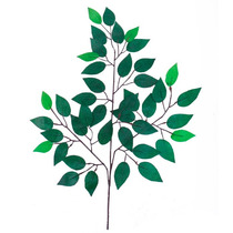 Haste Folha Ficus 57 Cm - Flores Artificiais