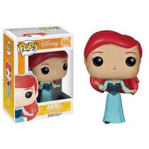 Ariel Funko Pop Disney La Sirenita Vestido Azul Princesa